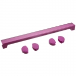 Ροζ Γωνίες προστασίας Παιδικών Γραφείων Kettler