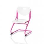 Καρέκλα Γραφείου CHAIR PLUS ροζ/λευκό
