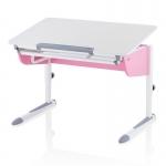 Παιδικό Γραφείο για Κορίτσια Kettler LOGO UNO X λευκό/ροζ