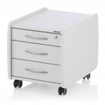 Συρταριέρα Kettler LOGO TRIO BOX Λευκή