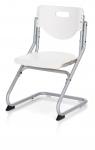 Καρέκλα Γραφείου PLUS ασημί/λευκό
