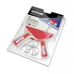 Ρακέτες ping pong TT Match με μπαλάκια